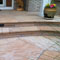 Flagstone front porch.