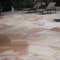 Flagstone patio installed by Backyards Plus.