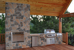 Backyards Plus designs and installs outdoor kitchens and more in the Front Range area of Denver, CO.
