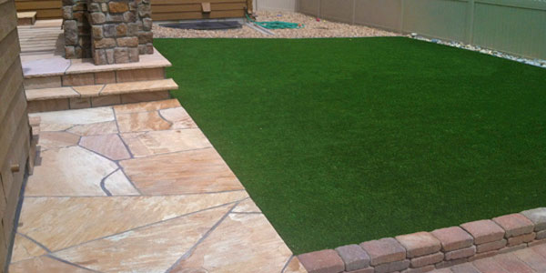 Backyards Plus installs artificial grass in Denver, CO.