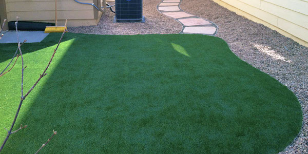Reduce your water bill with artificial grass.