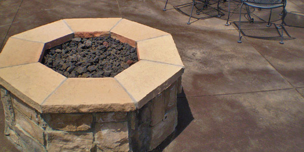 Custom fire pits by Backyards Plus in metro Denver, CO.