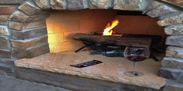 Outdoor fireplace ideas Denver, CO.
