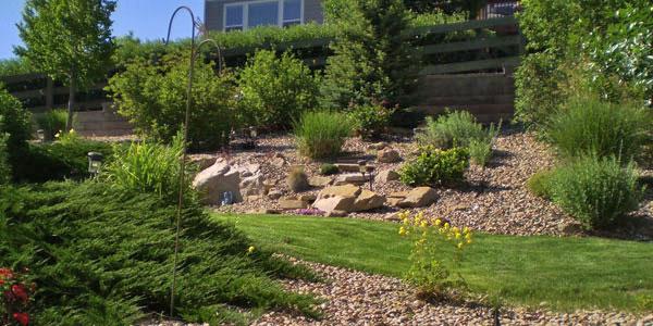 Denver landscape design.