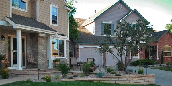 Frontyard landscaping ideas for Denver, CO.