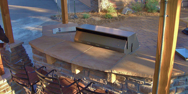 Outdoor kitchen installers Evergreen, CO.