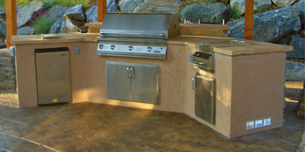 Outdoor kitchen ideas for Evergreen, CO.
