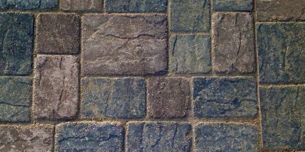 Ashlar paver pattern.