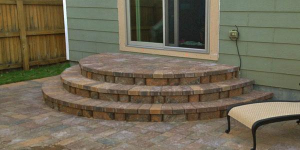 Custom paver installation by Backyards Plus in Denver, CO.