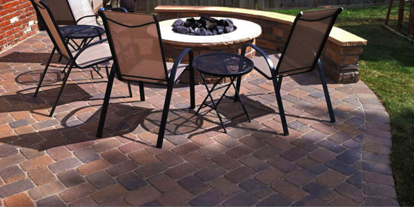 Paver patios in metro Denver.