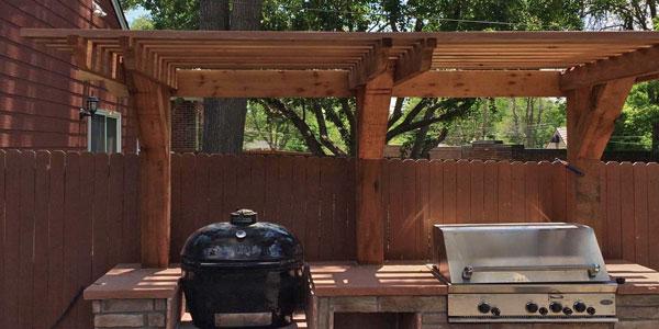 Backyards Plus pergola design and installation.