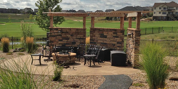 Custom shade structure by Backyards Plus in Erie, CO.