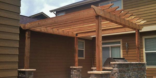 Denver's custom pergola builders.